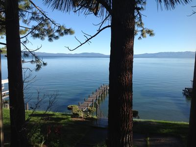 Photo for Lakefront Retreat with Awesome Views near Heavenly