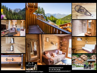 Photo for Charming apartment 2/4 people in a mountain chalet