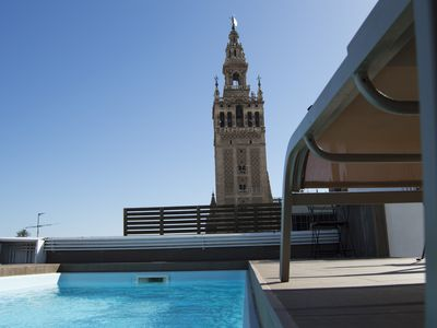 Photo for Unique Luxury Apartment with  Swimming pool, Cathedral views