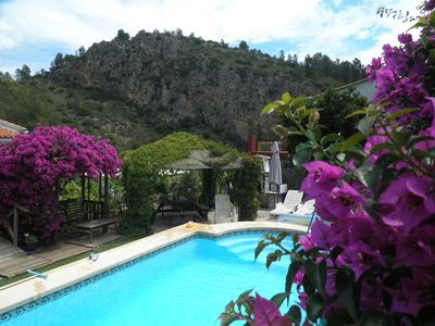 Photo for Scenic Riverside Retreat in El Raco del Duc, Private pool, Panoramic views Wi-Fi