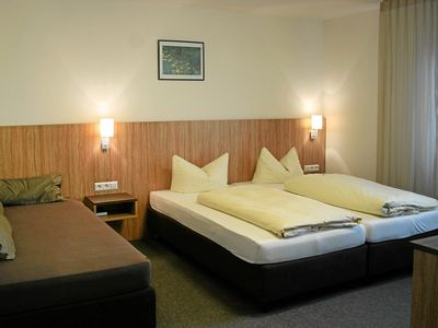 Photo for Double room with toilet and shower - sports and conference hotel Kenzingen