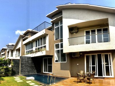 Photo for Luxuriously furnished 3BR Villa in Anjuna with Private Pool & Caretaker