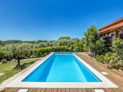Photo for Striking Holiday Home in Carcavelos with Swimming Pool