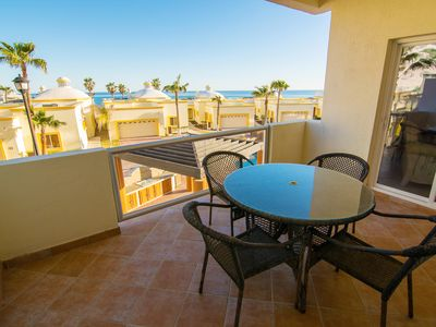 Photo for Spectacular 1 Bedroom Condo on Sandy Beach at Las Palmas Beachfront Resort G-202