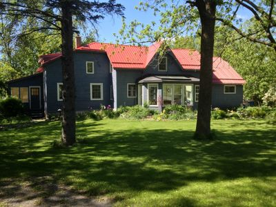 Photo for Stunning Waterfront Century Home with swimming pool Sleeps 12. P.E.C