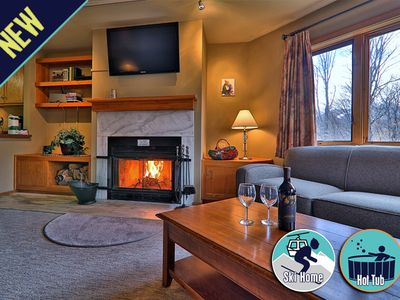 Photo for Amazing view & location - ski back trail/shuttle service with a sports center