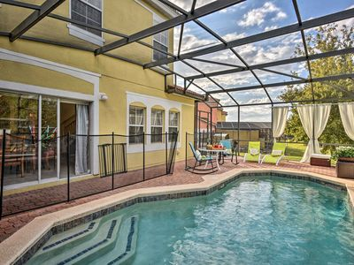 Photo for Kissimmee Townhome w/ Pool - 6 Miles to Disney!