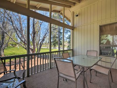 Photo for Flagstaff Townhome w/Pool Access on Golf Course!