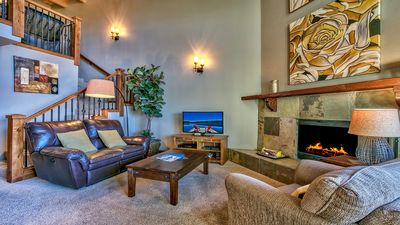 Photo for Amazing Lake View Condo!  The Perfect Mountain Home for R&R and Skiing.