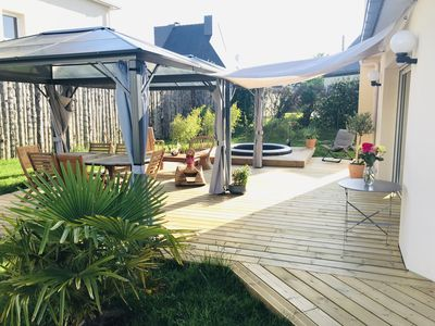 Photo for House in Brittany with covered terrace and SPA