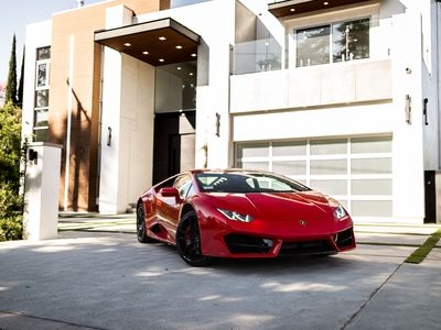 Photo for Luxury modern mansion with Lamborghini!