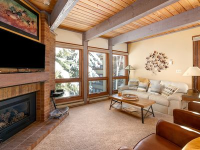 Photo for Highly recommended condo with sauna and hot tub.