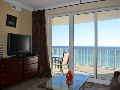 Photo for LUXURY OCEAN FRONT  2 BEDROOM 2 BATHS UNIT READY TO ACCOMMODATE 8 PEOPLE