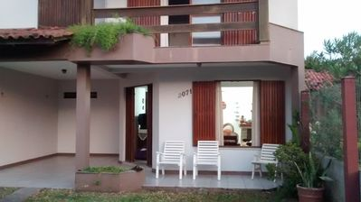 Photo for Large, airy beach house with private patio, within walking distance of the sea.
