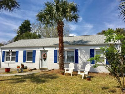 Photo for ONE block away from beach! Bright, updated. Pet-friendly. Wheelchair accessible.