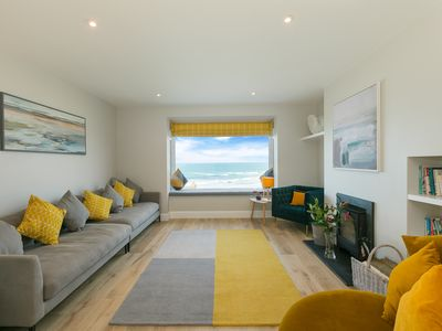 Photo for New for 2020 * Stunning  luxury holiday home - sea views, garden and parking