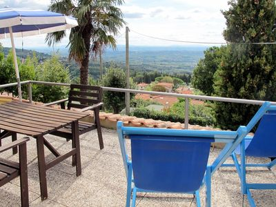 Photo for Nice apartment for 6 people with WIFI, pool, TV, balcony, pets allowed and parking