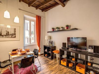 Photo for Apartment in the center of Rome with Internet, Air conditioning (367228)