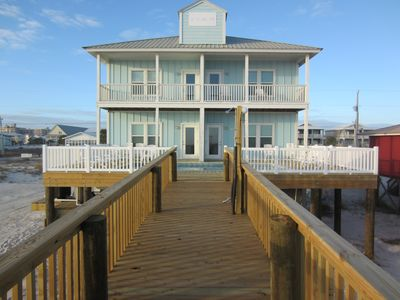 Photo for Sol Mate West Gulf Shores Gulf Front Vacation House Rental - Meyer Vacation Rentals