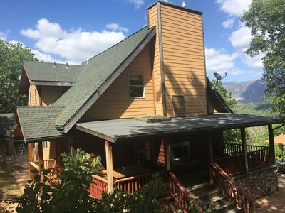 Photo for Custom Home with Spectacular Mountain Views and Separate  Cabin on property