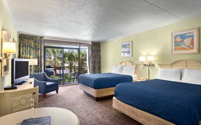 Photo for *YOUR VACATION AWAITS IN OUR SOUTH SIDE OCEAN VIEW ROOM WITH PRIVATE BALCONY!*
