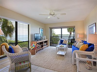 Photo for One of the prettiest views in Captiva! Across the Street to the Beach