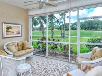 Photo for Golf Course- 9.5ft ceiling condo on 17th green approach. & close to beach!