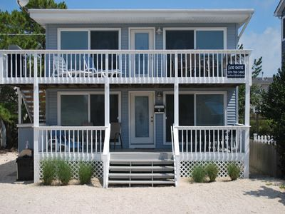 Photo for ~LBI~ / Brant Beach, ~NJ~ - Oceanside - 5 Houses from Beach
