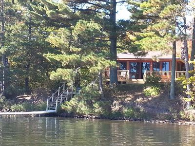 Photo for Lac Courte Oreilles*** Newly remodeled Waterfront Cottage Feet From The Lake