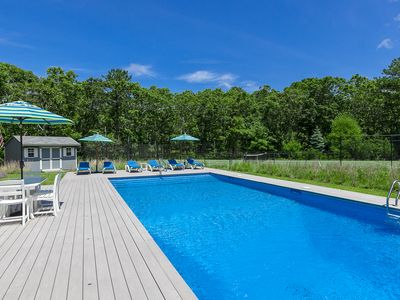 Photo for FAMILY FRIENDLY SUMMER HAVEN: POOL, TENNIS, JACUZZI, BABY/CHILD-READY