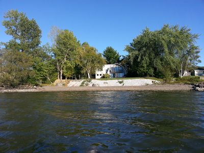 Photo for Beautiful Lake Champlain Waterfront With Private Beach, Boat Ramp And Dock