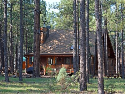 Photo for Log Cabin on National Forest