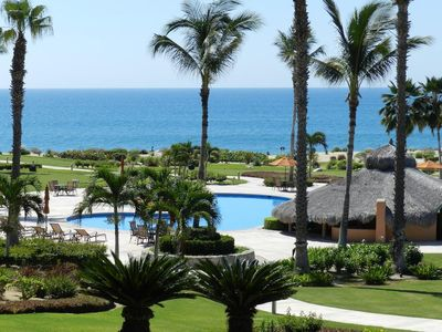 Photo for THANKSGIVING SPECIALS!! BEACHFRONT! Beautiful 2 bedroom condo steps from the water!
