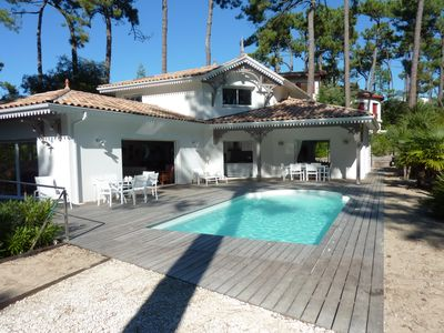 Photo for New villa, spacious, sunny in the Arcachon Mouleau