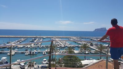 Photo for Superb 2 bedroom, modern linked villa, Moraira, Free Air Conditioning/Free WiFi!