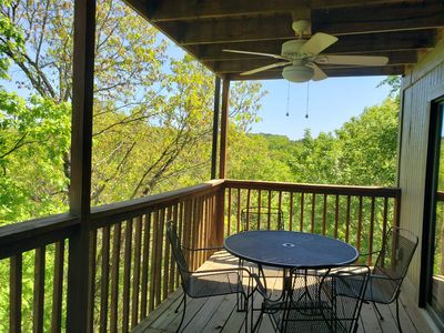 Photo for ONLY 1 MILE TO SILVER DOLLAR CITY!  Fabulous view of Ozark wilderness!