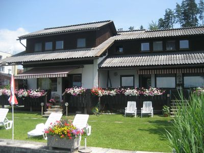 Apartment 1 (garden apartment with balcony) - Apartments Mistelbauer DIRECT at Faaker See