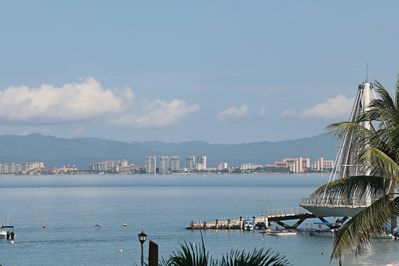 View of Banderas Bay from the wrap around balcony