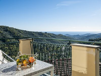 Photo for 1BR Apartment Vacation Rental in Vasia, Liguria