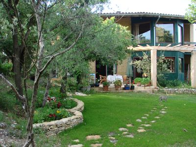 Photo for Beautiful architect house, very spacious and quiet, near Uzes