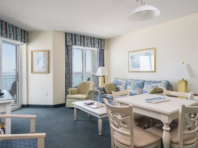 Photo for Baywatch Resort -  933 Budget friendly 2 bedroom unit overlooking the ocean!