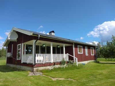 Photo for Holiday house Lansjärv for 1 - 5 persons with 2 bedrooms - Holiday home