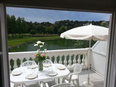 Photo for 2 rooms 6/7 Port Bourgenay Ile au Pré lake and golf view