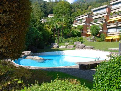 Photo for Apartment Residenza Navengana  in Minusio, Ticino - 5 persons, 3 bedrooms