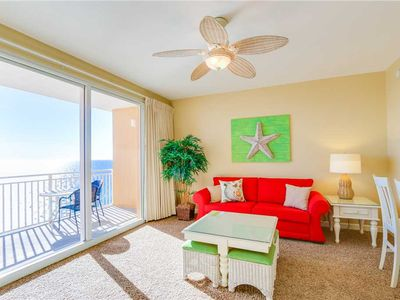 Photo for Inviting Condo W/ Updated Furniture, Stunning Beach View, FREE Beach Service!