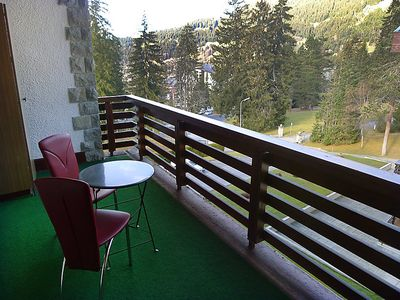 Photo for One bedroom Apartment, sleeps 4 in Villars-sur-Ollon with Pool and WiFi