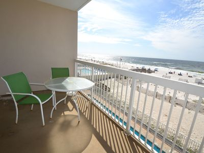 Photo for Caribbean 204 ~ Beach Front ~ Pet Friendly(Add'l Fee) ~ Bender Vac Rentals