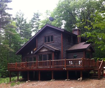 Photo for Bright cabin retreat happily situated 7 miles from Whiteface Mt