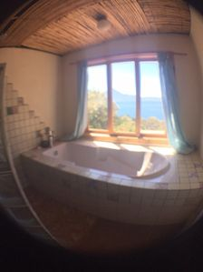 Photo for The Iguana Yurt with private terrace and beautiful views of Lake Atitlan