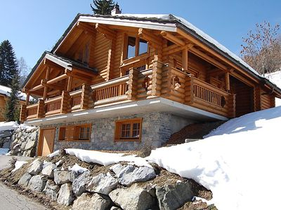 Photo for Vacation home Les Fougères in Nendaz - 8 persons, 3 bedrooms